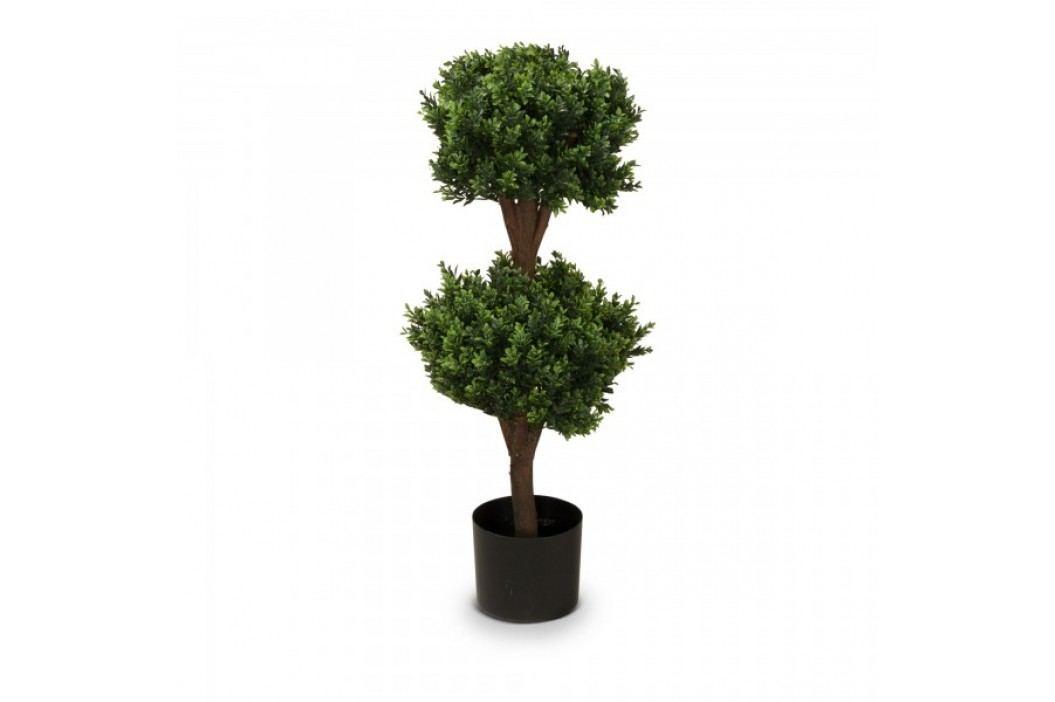 Buchsbaum Kunstpflanze PHILIPP 90 aus Kunststoff, Kunstbaum, Buxbaum, Höhe: 90 cm Kunstpflanzen