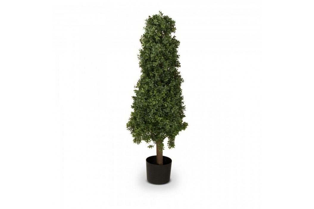 Buchsbaum Kunstpflanze BENJAMIN 90 aus Kunststoff, Kunstbaum, Buxbaum, Höhe: 90 cm Kunstpflanzen