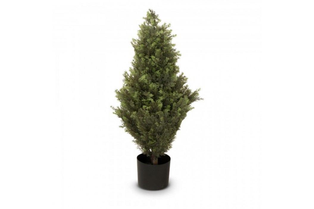 Zypresse Kunstpflanze BASTIAN 90 aus Kunststoff, Kunstbaum, Buxbaum, Höhe: 90 cm Kunstpflanzen