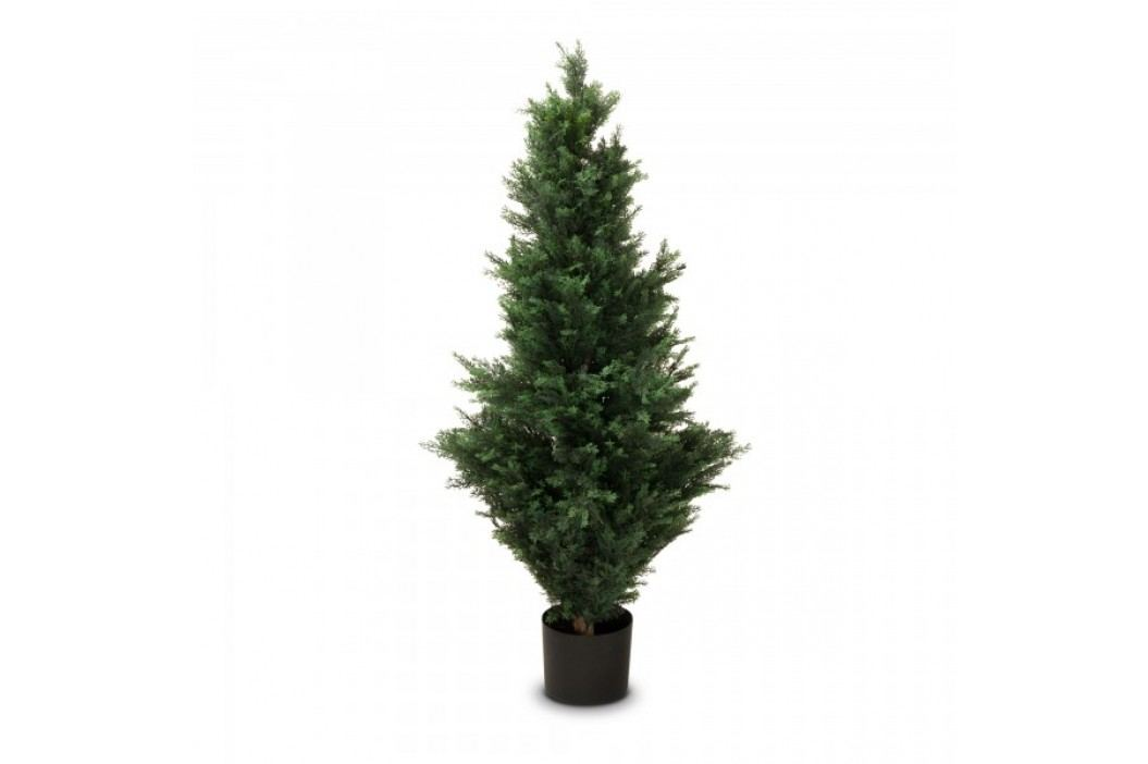 Zypresse Kunstpflanze BASTIAN 120 aus Kunststoff, Kunstbaum, Buxbaum, Höhe: 120 cm Kunstpflanzen