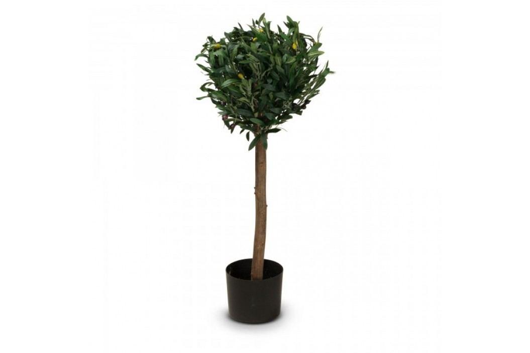 Olivenbaum Kunstpflanze MARIUS 90 aus Kunststoff, Kunstbaum, Höhe: 90 cm Kunstpflanzen