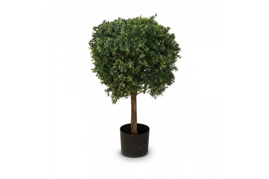 Buchsbaum Kunstpflanze LEON 80, Kunstbaum, Buxbaum, 80 cm Kunstpflanzen