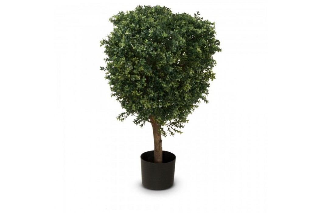 Buchsbaum Kunstpflanze LEON 90, Kunstbaum, Buxbaum, 90 cm Kunstpflanzen