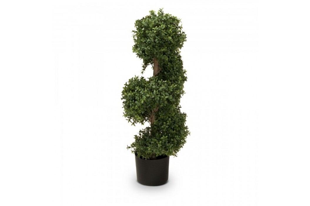 Buchsbaum Kunstpflanze LUKAS 90 aus Kunststoff, Kunstbaum, 90 cm hoch Kunstpflanzen