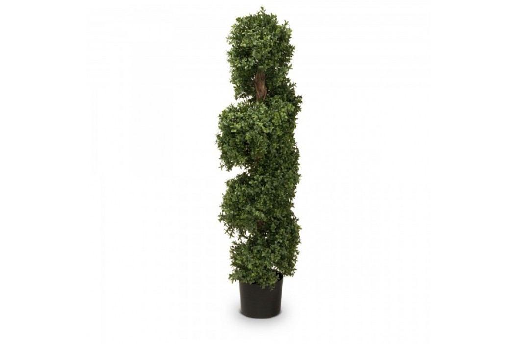 Buchsbaum Kunstpflanze LUKAS 120 aus Kunststoff, Kunstbaum, 120 cm hoch Kunstpflanzen