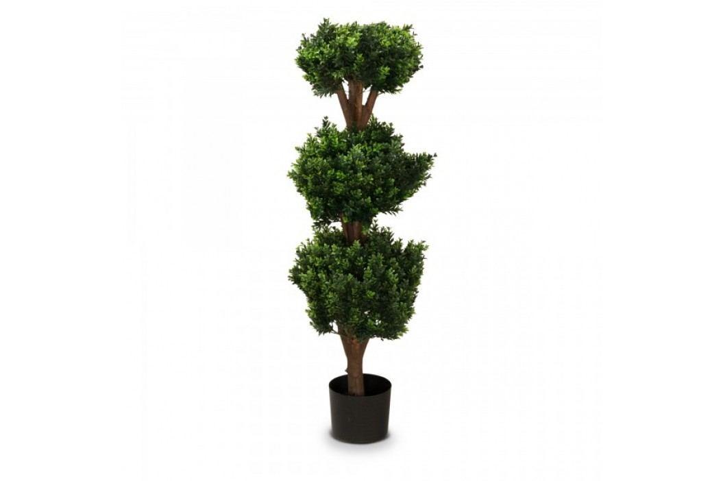 Buchsbaum Kunstpflanze PHILIPP 120 aus Kunststoff, Kunstbaum, Buxbaum, Höhe: 120 cm Kunstpflanzen