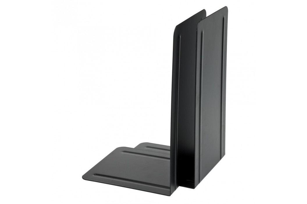 Alco Buchstütze, Metall, 130 x 140 x 240 mm, schwarz Prospektständer