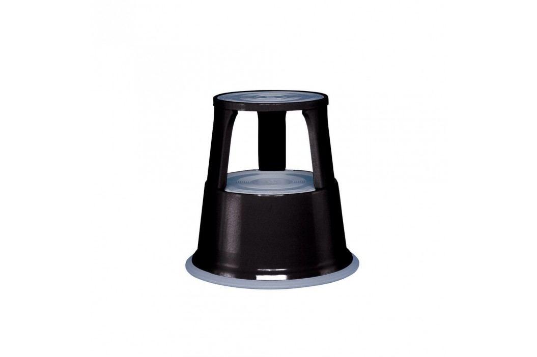 Wedo Rollhocker, Metall, 29 x 44 cm, 4,9 kg, schwarz Werkzeug