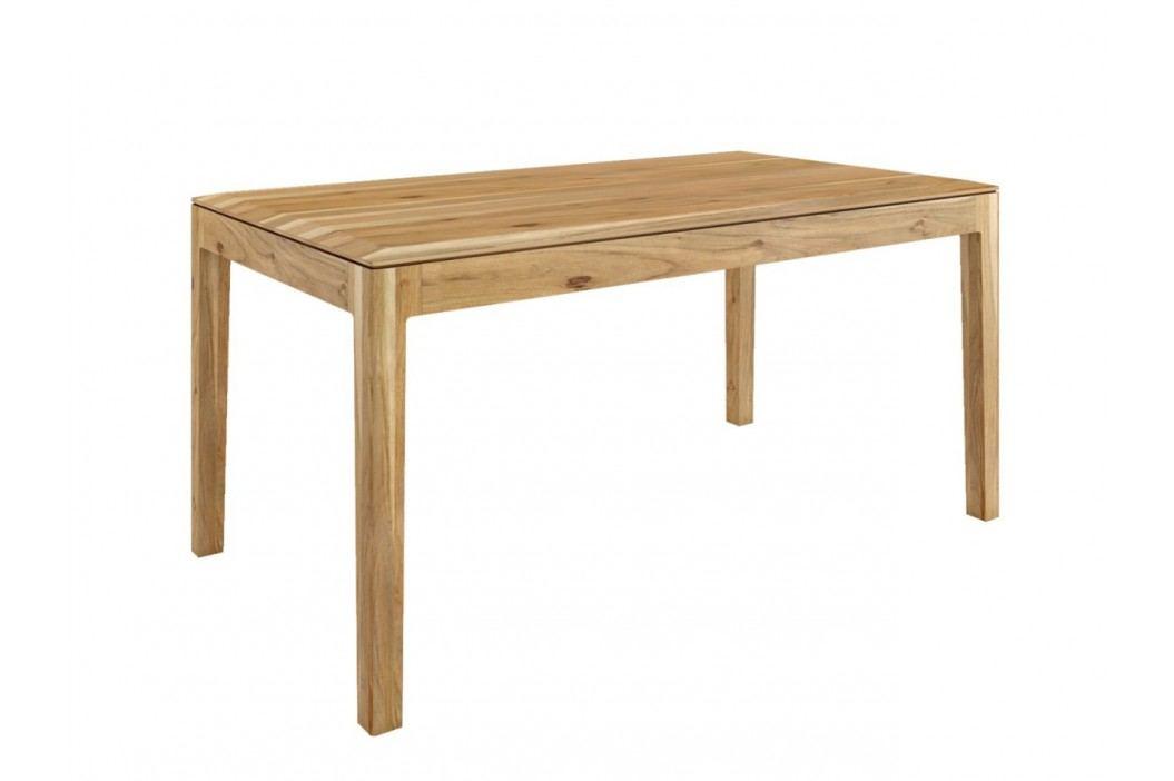Esstisch Tisch Casablanca 130160 x 8090 cm, 130 x 80 cm Akazie natur matt Esstische