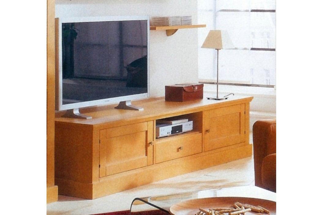 TV-Lowboard Santos Pinie massiv, Pinie weiß gekälkt Esstische