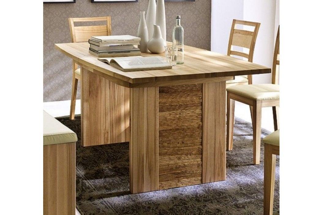 Wangentisch Esstisch Tisch Atlanta 140160180200220 x 90 cm Wildeiche geölt, 160 x 90 cm Esstische