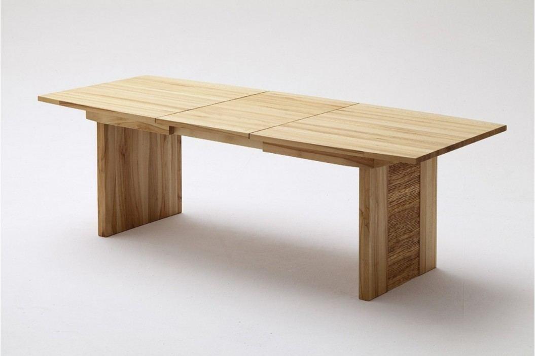 Wangentisch Esstisch Tisch Atlanta 140160180200220 x 90 cm Wildeiche geölt, 220 x 90 cm Esstische