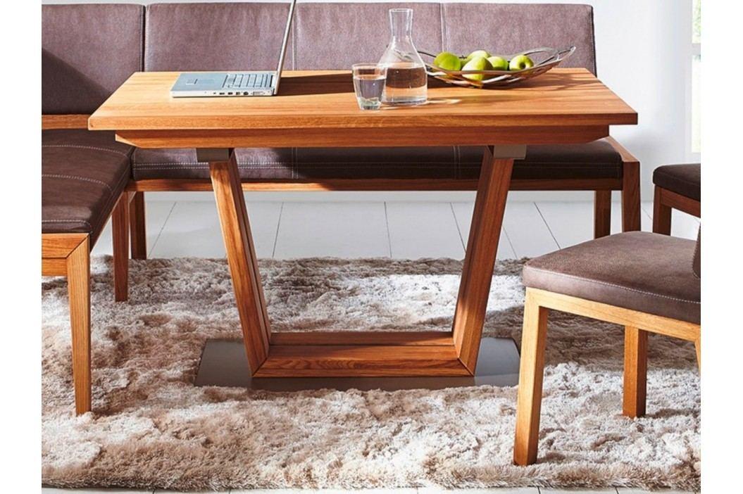 Säulentisch Aspen 120130140150 x 708090cm Wildeiche geölt, 130 x 80 cm Esstische