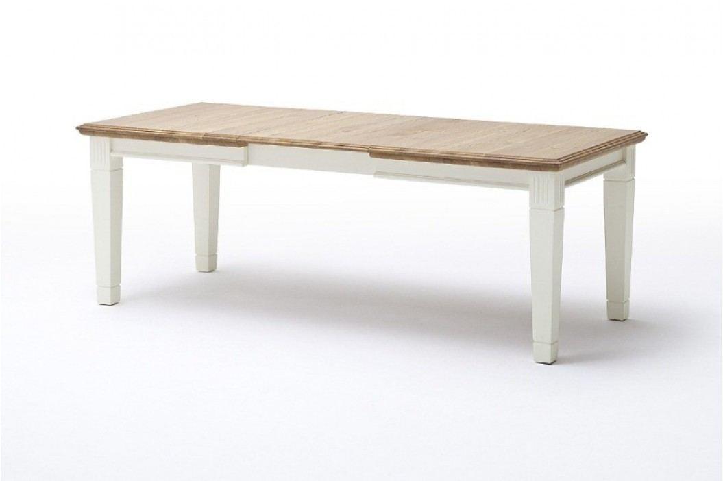 Esstisch Küchen-Tisch Padua 140160180 x 95 cm, 140 cm feste Platte panna Absetzung sierra mit Klappeinlage Esstische