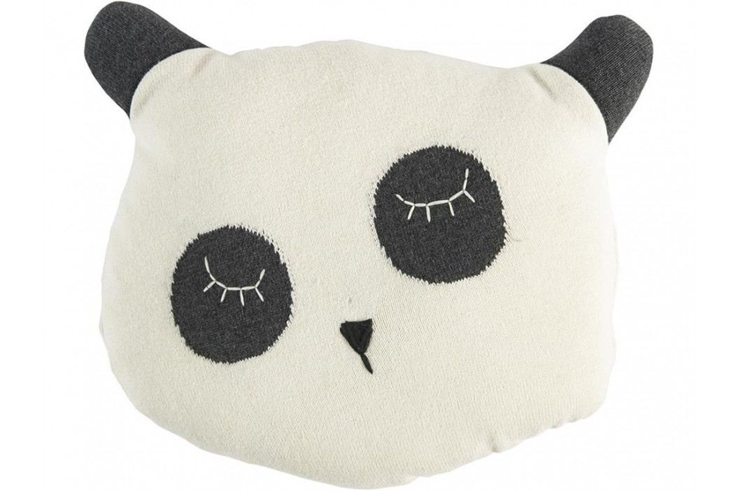 SEBRA® Panda Kissen gestrickt 4002302 Spielzeug