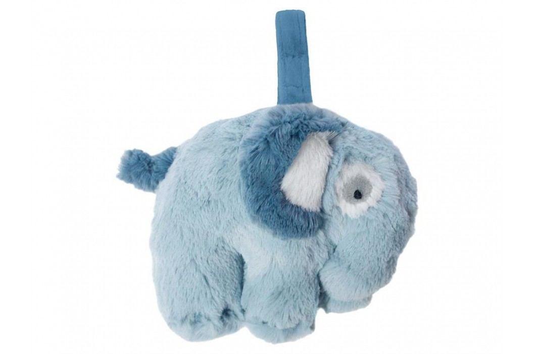 SEBRA® Plüsch-Spieluhr Elefant Wolkenblau 3013101 Babyspielzeug