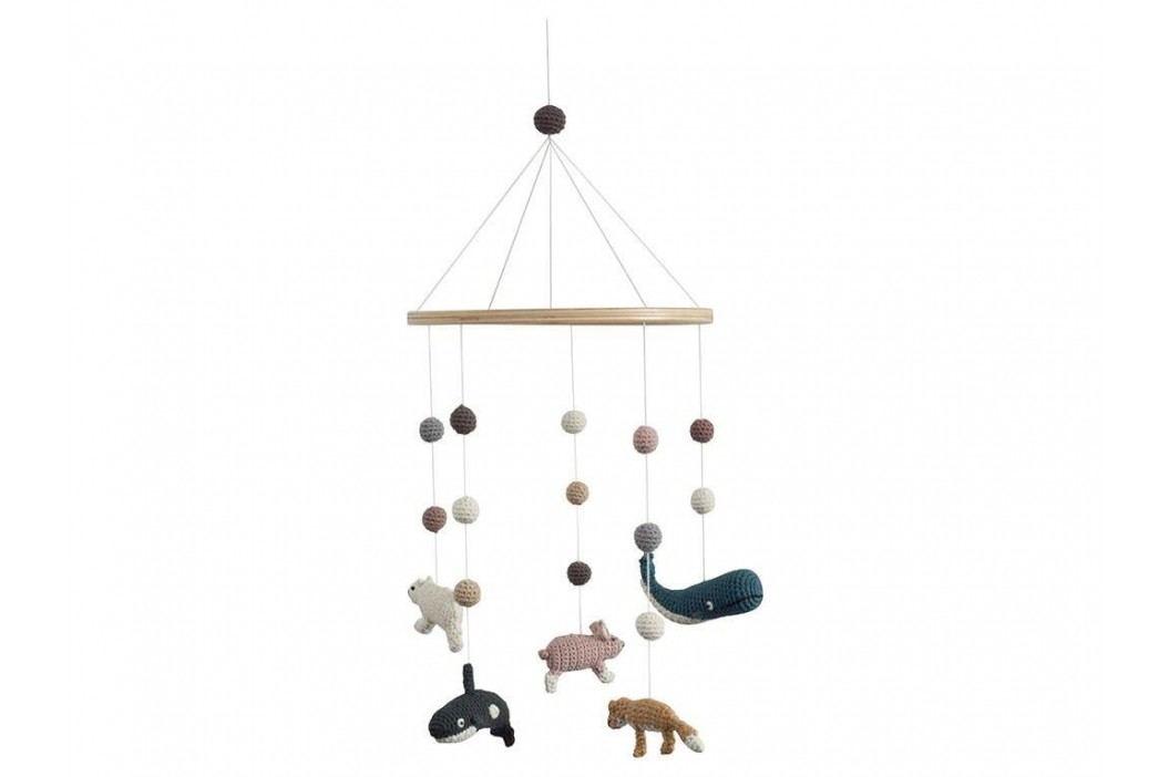 SEBRA® Häkel-Babymobile Arctic Animals 8018202 Babyspielzeug