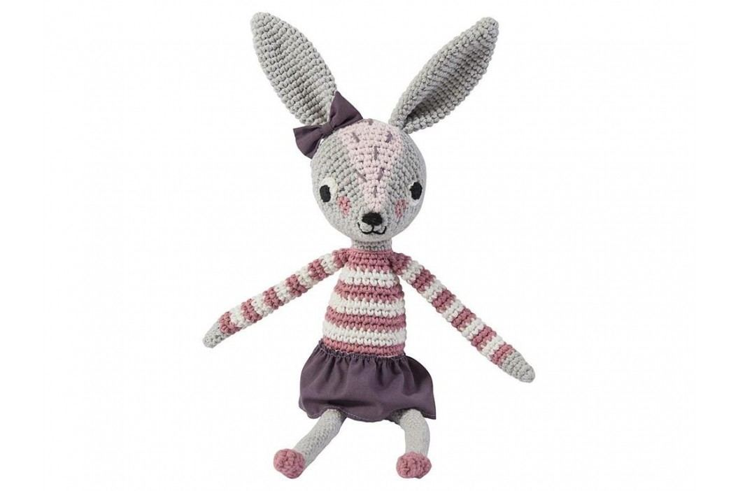 SEBRA® Häkel-Tier Kaninchen Roberta Höhe 38cm 3001203 Spielzeug