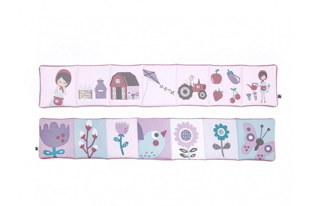 SEBRA® Stoffbuch Forest Rosa 4007201 Spielzeug