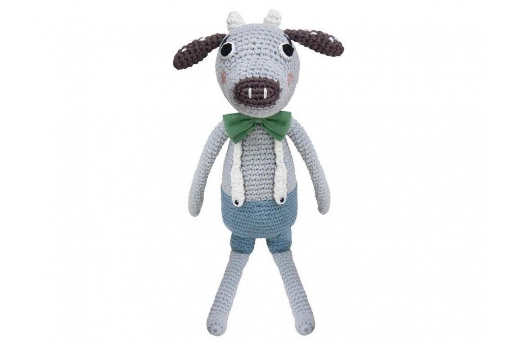 SEBRA® Häkel-Tier Kuh Carl Höhe 30cm 3001102 Spielzeug