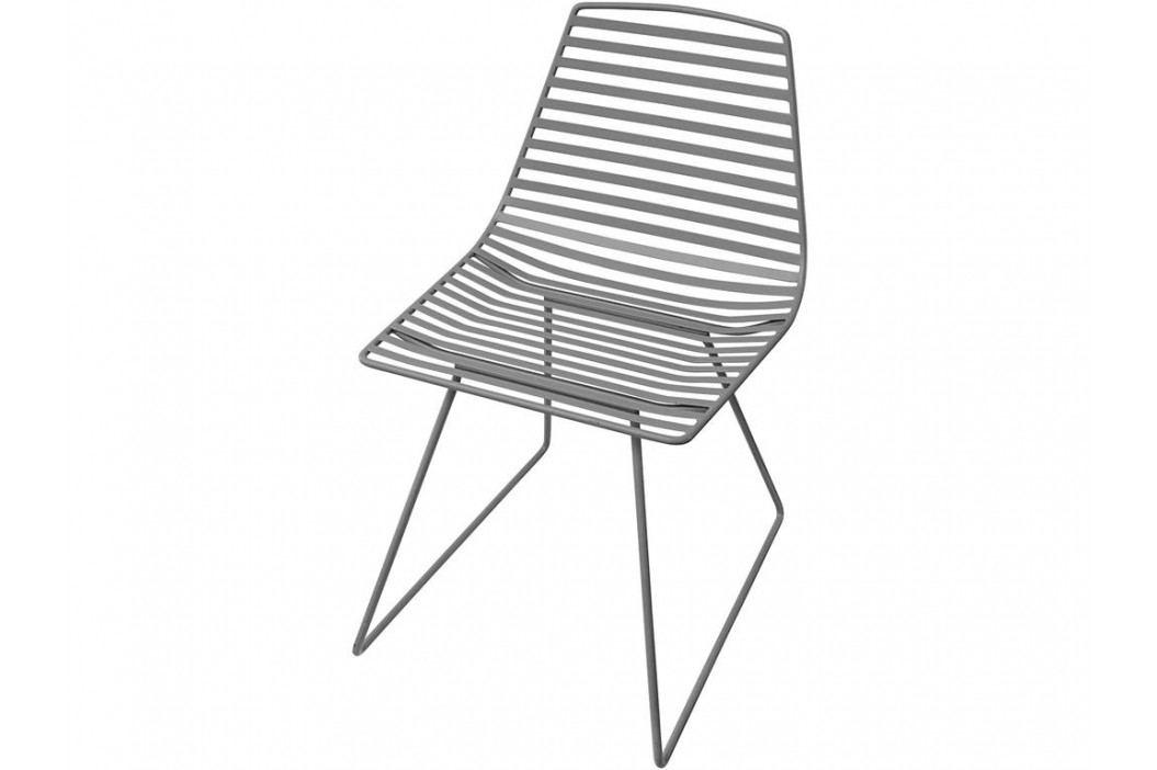 SEBRA® Me-Sit Metallstuhl Dunkelgrau Sitzhöhe 48cm 2007301 Kinderstühle