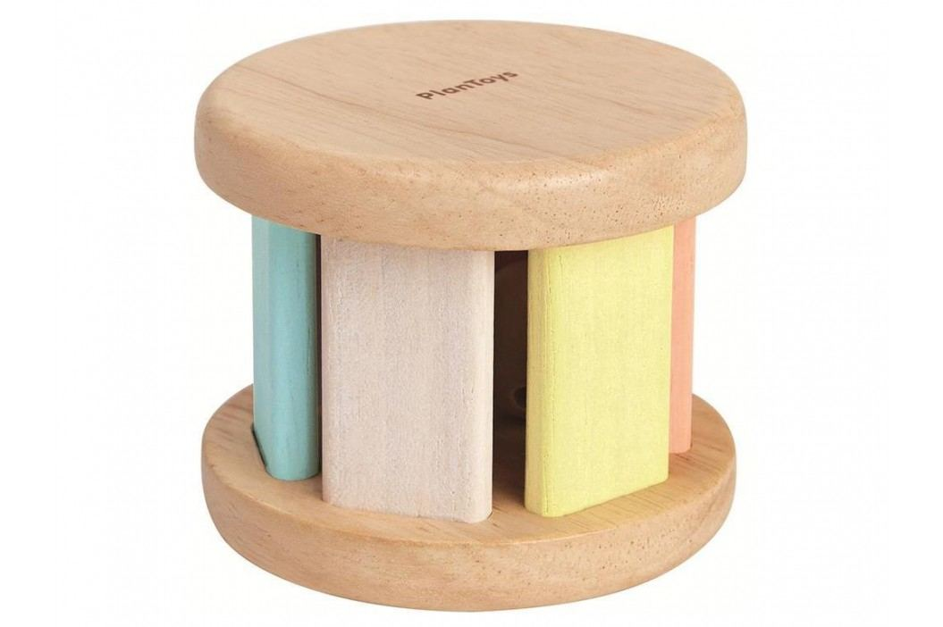 PLAN TOYS PlanToys Krabbelspielzeug Walze Pastell 4005255 Babyspielzeug