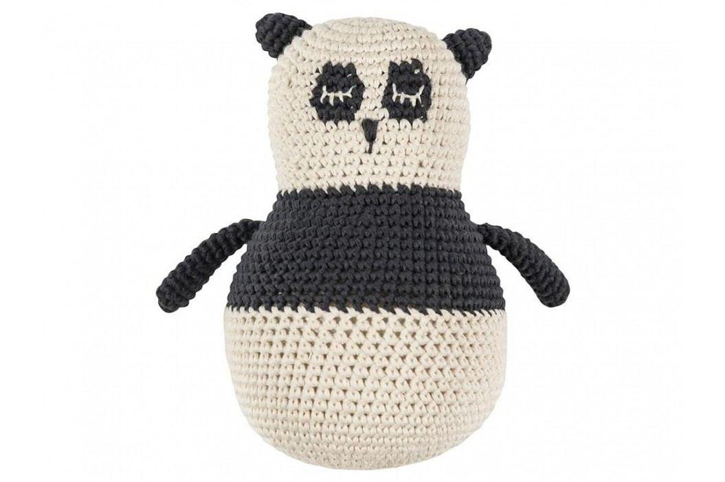 SEBRA® Häkel-Stehaufmännchen Panda Panny 3012301 Babyspielzeug