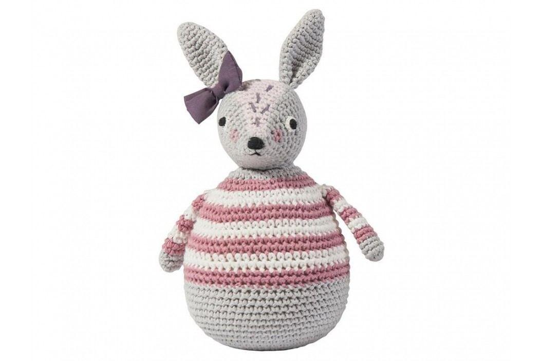 SEBRA® Häkel-Stehaufmännchen Kaninchen Roberta 3012201 Babyspielzeug