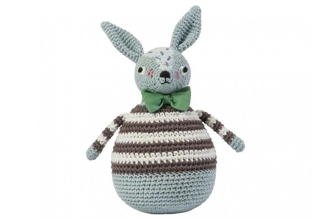 SEBRA® Häkel-Stehaufmännchen Kaninchen Robert 3012101 Babyspielzeug