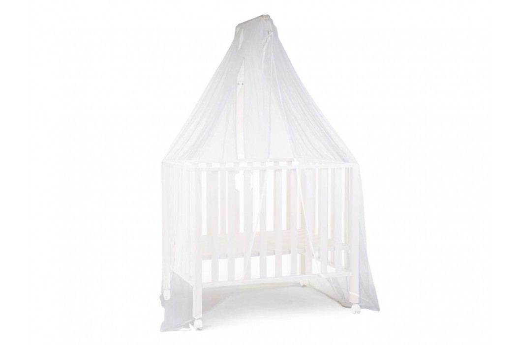 CHILDHOME Himmelstange mit Mückennetz Weiß MCHWH Betthimmel