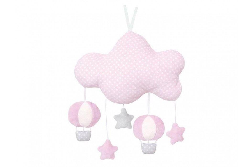 JABADABADO Musik Stoffmobile Wolke Rosa N0100 Babyspielzeug