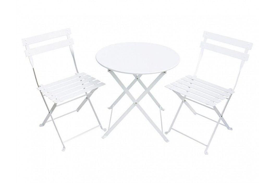JABADABADO JaBa Furniture Outdoor Sitzgruppe 3-teilig Weiß C1005 Kinderstühle