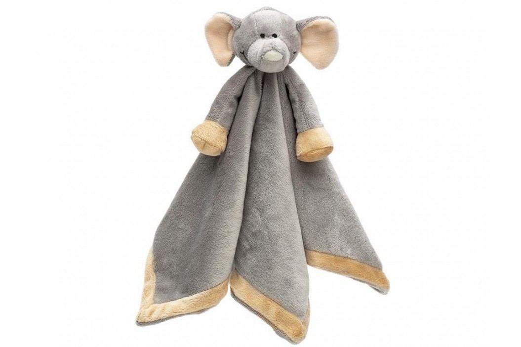 TEDDYKOMPANIET® Diinglisar Wild Schmusetuch Elefant 4514874 Spielzeug