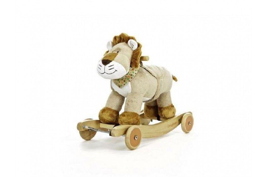 TEDDYKOMPANIET® Schaukeltier Diinglisar Wild Löwe mit Musik 452155 Spielzeug