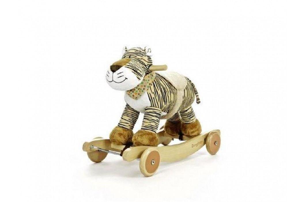 TEDDYKOMPANIET® Schaukeltier Diinglisar Wild Tiger mit Musik 452154 Spielzeug