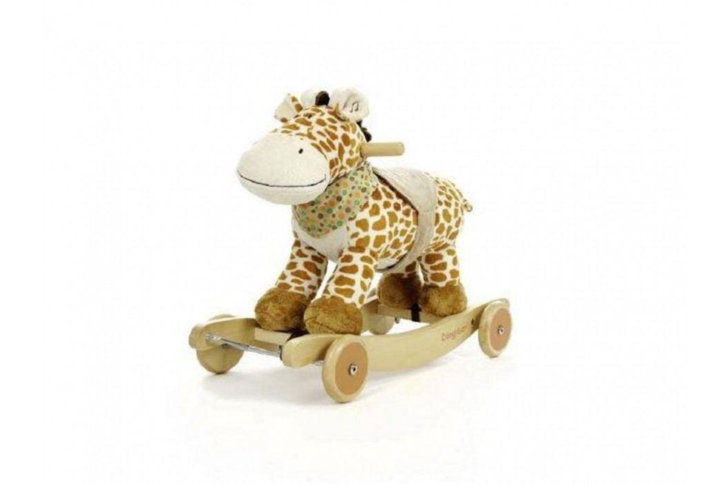 TEDDYKOMPANIET® Schaukeltier Diinglisar Wild Giraffe mit Musik 452153 Spielzeug
