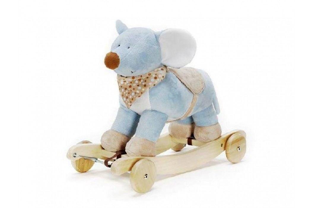 TEDDYKOMPANIET® Schaukeltier Diinglisar Maus mit Musik 4520354 Spielzeug