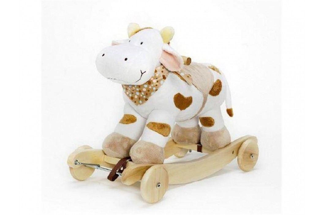 TEDDYKOMPANIET® Schaukeltier Diinglisar Kuh mit Musik 4520353 Spielzeug