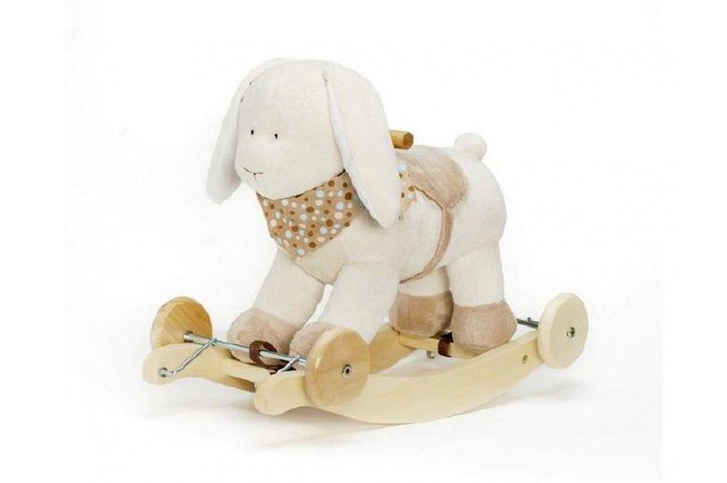 TEDDYKOMPANIET® Schaukeltier Diinglisar Hase mit Musik 4520352 Spielzeug