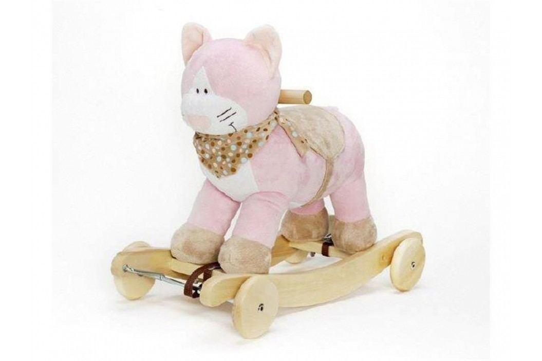TEDDYKOMPANIET® Schaukeltier Diinglisar Katze mit Musik 4520351 Spielzeug