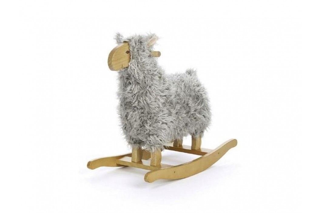 TEDDYKOMPANIET® Schaukeltier Lamm Grau 451379 Spielzeug
