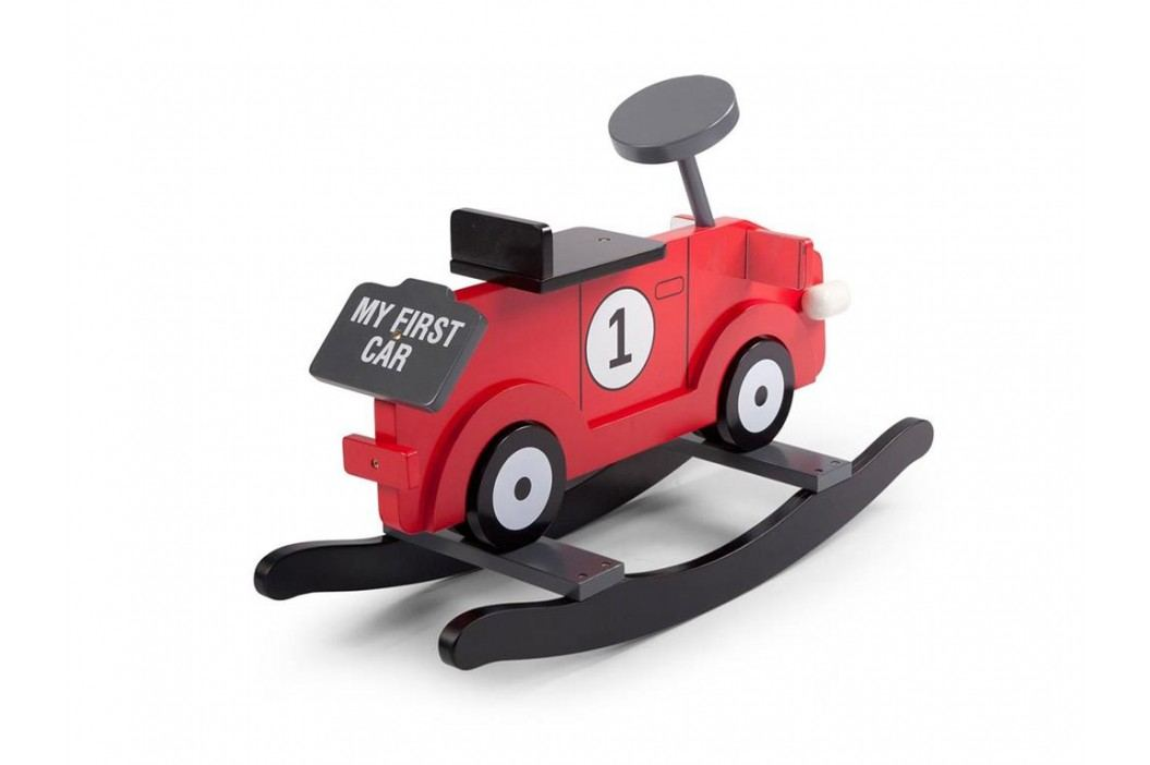 CHILDHOME Schaukelauto Schaukel Auto Rot My First Car CWRFCR Spielzeug