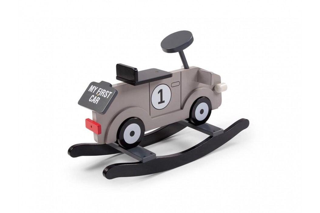 CHILDHOME Schaukelauto Schaukel Auto Grau My First Car CWRFCG Spielzeug