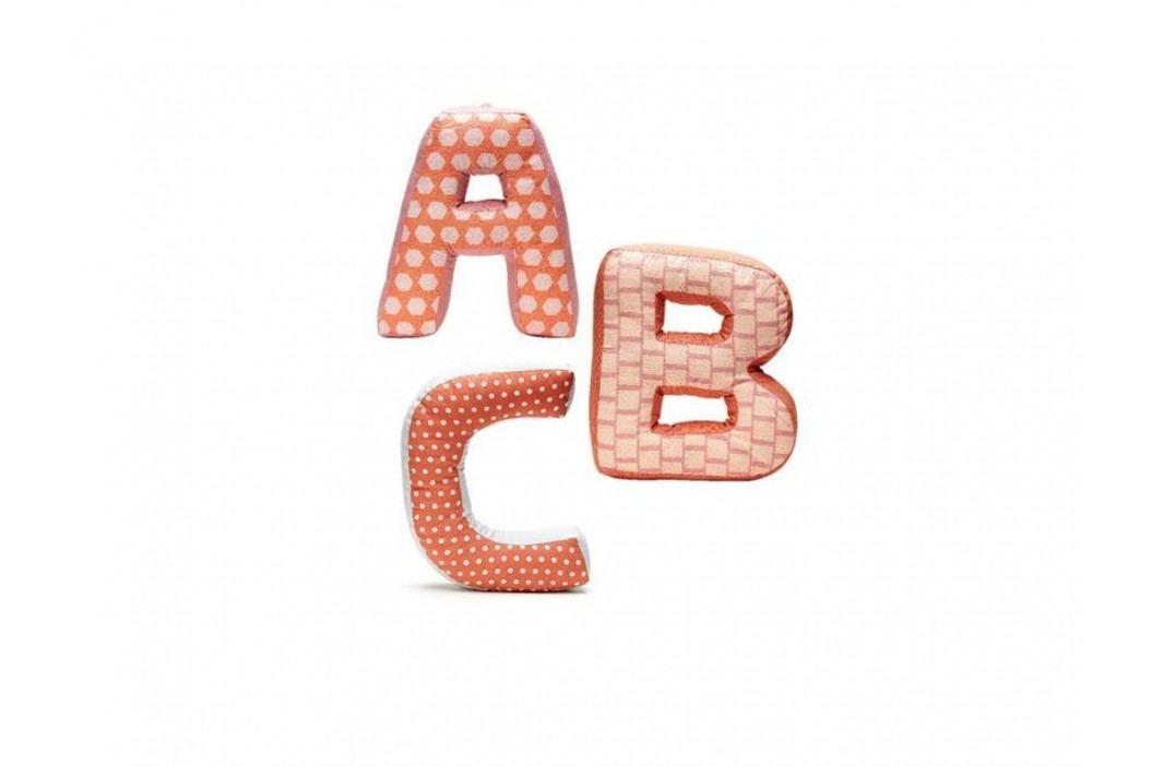 KIDS CONCEPT ABC Buchstabenkissen Edvin 3er-Set 1000087 Spielzeug