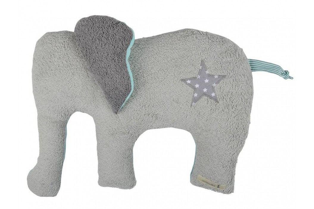 LOTTAS LABLE® Stofftier Elefant NOA 50x40cm 8600-1 Spielzeug
