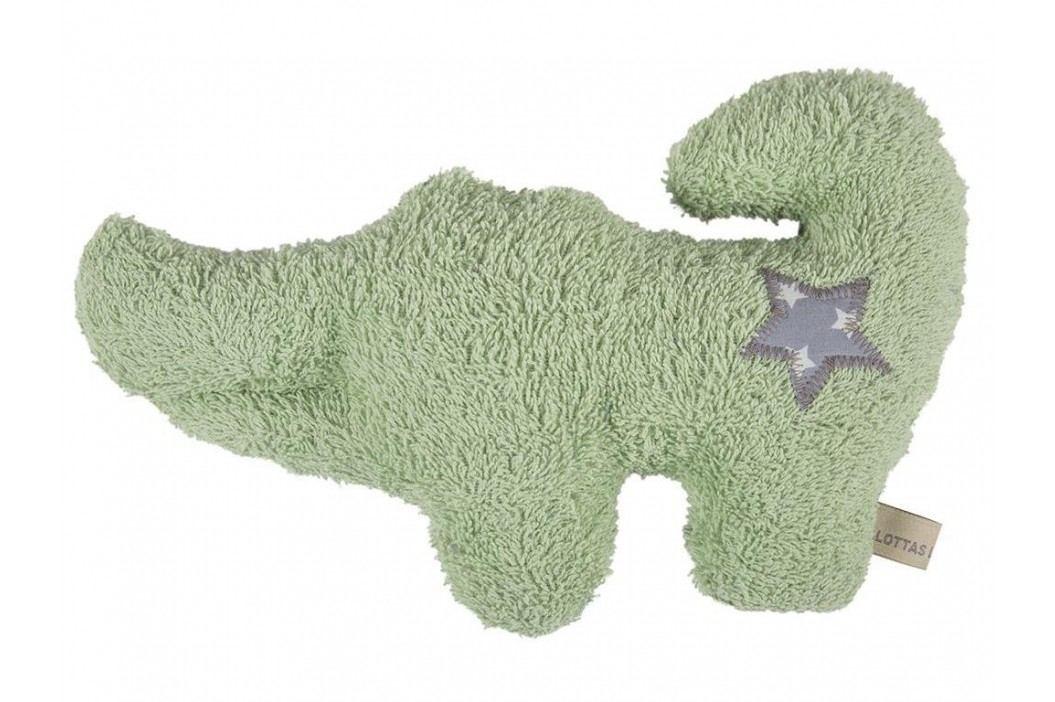 LOTTAS LABLE® Frottee Kuscheltier Krokodil KUNO 8050-3 Spielzeug