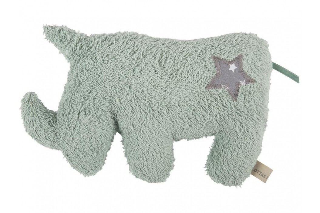 LOTTAS LABLE® Frottee Kuscheltier Nashorn NADO 8050-2 Spielzeug