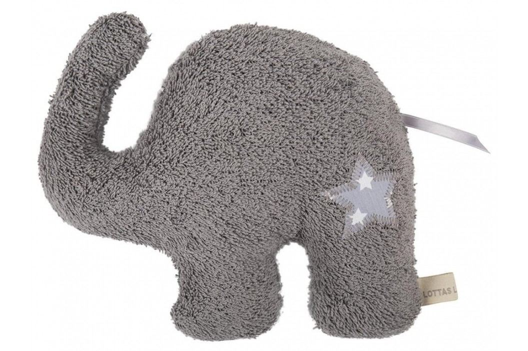 LOTTAS LABLE® Frottee Kuscheltier Elefant ELDO 8050-1 Spielzeug