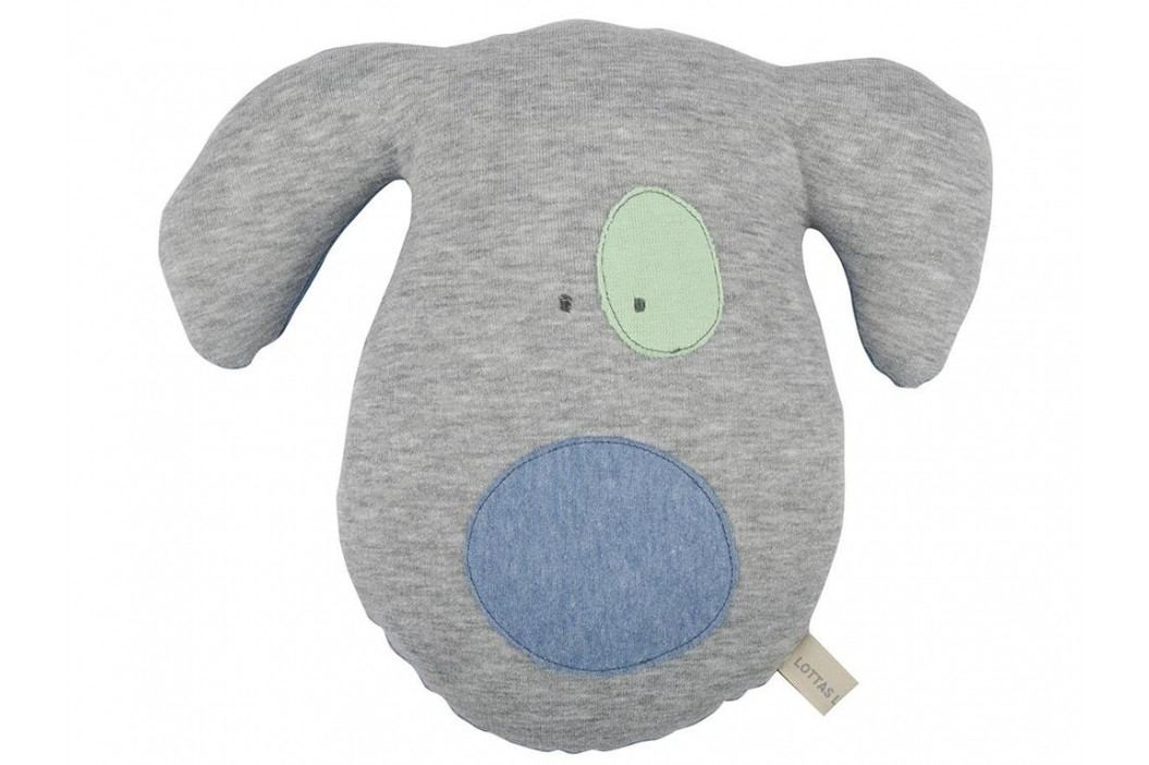 LOTTAS LABLE® Stofftier Hund KURT 30x25cm 8016 Spielzeug