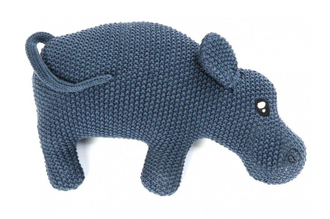 LIFETIME Kidsroom Stofftier Hippo Blue S40046-3 Spielzeug